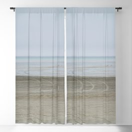 Airport on the beach Blackout Curtain
