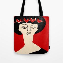 Valentine's girl Tote Bag