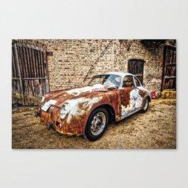 "Leica ""A Porsche Never dies"" Canvas Print"
