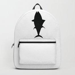 Tuna Fish Silhouette Backpack