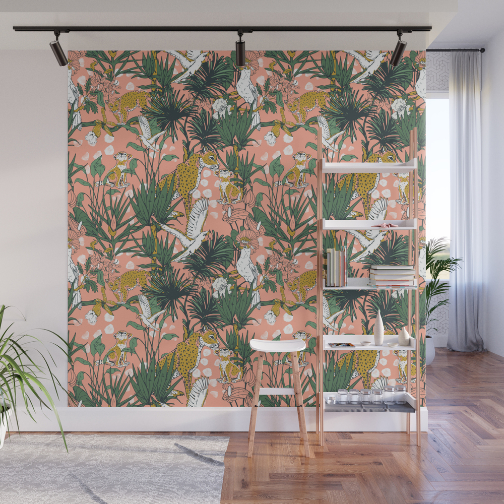 Animals In The Rainforest I Wall Mural by Mmartabc WMP8455582