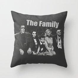 The Family Throw Pillow