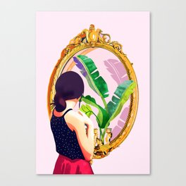 Soul Mirror Canvas Print