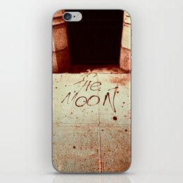 To The Moon iPhone Skin