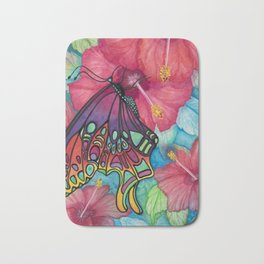 Wings And Flora Bath Mat