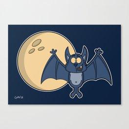 Batty Halloween! Canvas Print