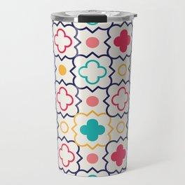 Cute Eastern Pattern Travel Mug