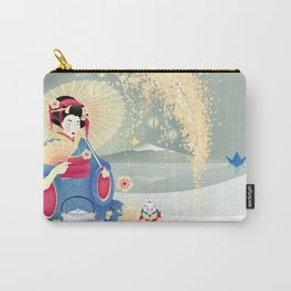 Turning Japanese Carry-All Pouch