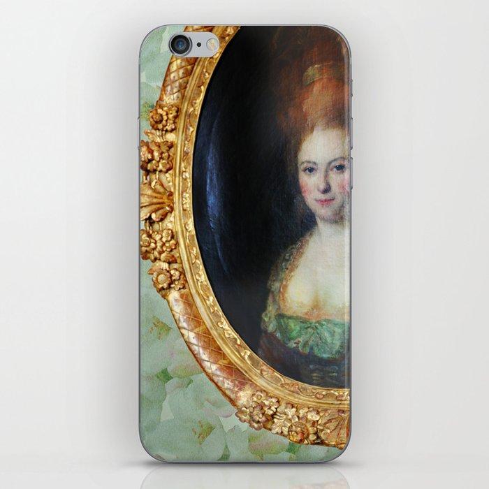 Roccoco Apple blossom iPhone Skin