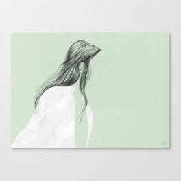 On the go - Ear Tuck No.2 Canvas Print