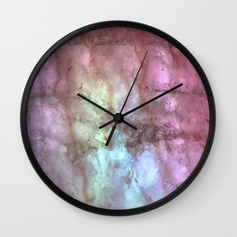 Lights & Minerals Wall Clock