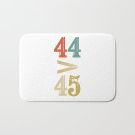 44 > 45 Anti Trump Impeach Bath Mat