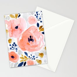 Genevieve Floral Stationery Cards