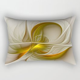 Abstract With Colors Of Precious Metals 2 Rectangular Pillow