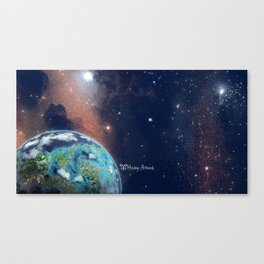Beyond Infinity | Vacation Planet Canvas Print