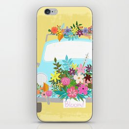 Bloom Where You Are Planted iPhone Skin