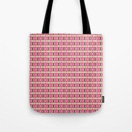 XOXOXO Holiday Pattern Tote Bag