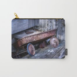 Left and Forgotten a little red wagon Carry-All Pouch