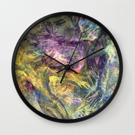Flaming Spirits Wall Clock