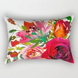 Flowers bouquet #37 Rectangular Pillow