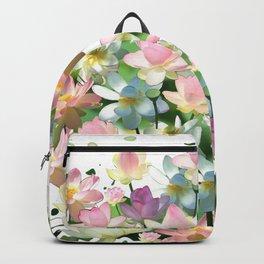 Lotus bloom Backpack