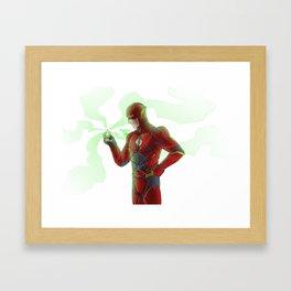 Power Ring of Sector 2814 Framed Art Print
