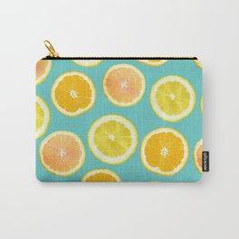 Lemon Citrus Melody Print Carry-All Pouch