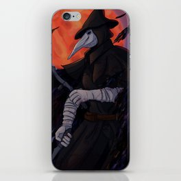 Leave the hunting of hunters to me iPhone Skin