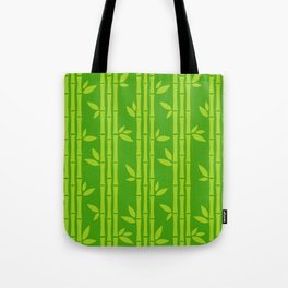 Evergreen Chinese Bamboos Tote Bag