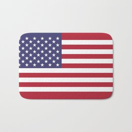 National flag of USA - Authentic G-spec 10:19 scale & color Bath Mat
