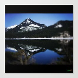 The Great Rockys  Canvas Print