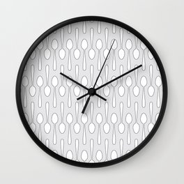 Kitchen Spoon Silhouette Wall Clock