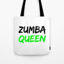 Zumba Queen (Green) Tote Bag