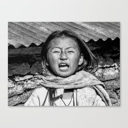 Himalayan sneeze Canvas Print