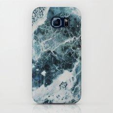 Blue Sea Marble Galaxy S8 Slim Case