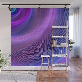 Purple storm Wall Mural
