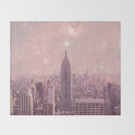 Stardust Covering New York Throw Blanket