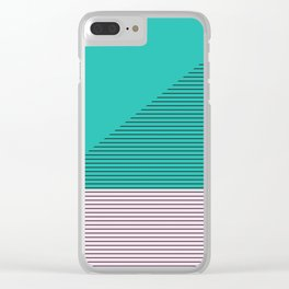 Lise Clear iPhone Case