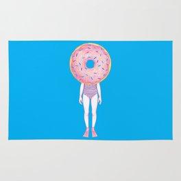 The Summer Treats : Blue Doughnut Rug