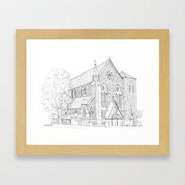 St. Mary's Church Framed Art Print