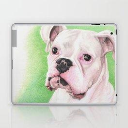 The White Boxer Laptop & iPad Skin