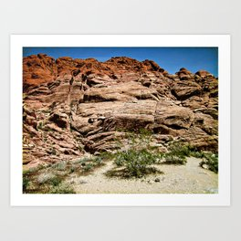 Red Rocks I Art Print