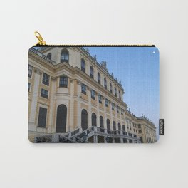 Moon rises at Schönbrunn Palace in Vienna Carry-All Pouch
