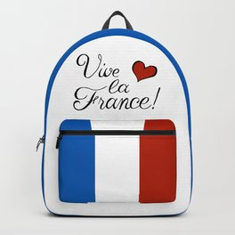 Vive la France! Backpack