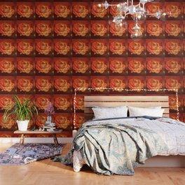 Flower on Fire Wallpaper
