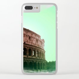 Sunset in Rome Clear iPhone Case