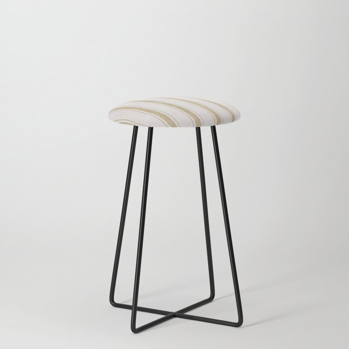 AEGEAN JUTE STRIPE Counter Stool