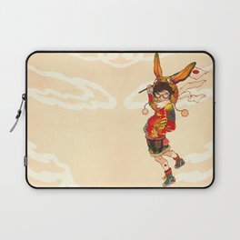 The land of the rising zine Laptop Sleeve