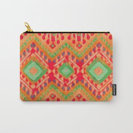 itzel - candy + lime Carry-All Pouch