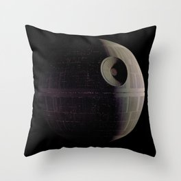That's no Moon... Throw Pillow